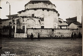 Great Mosque of Durrës - The old Ottoman mosque before 1931