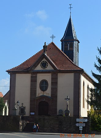 Altenheim - Image: Altenheim Church