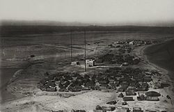Aerial view of Aluula in the 1920s.