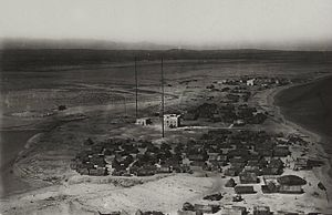 Alula, Somalia - Aerial view of Aluula in the 1920s.
