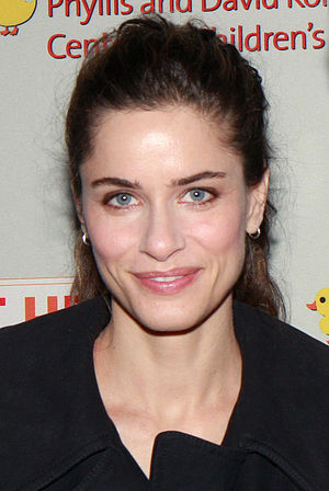 The X-Files: I Want to Believe - Supporting actress Amanda Peet who portrayed FBI agent Dakota Whitney.