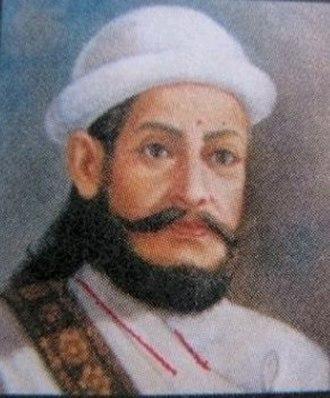 Amar Singh Thapa - Portrait of Bada (Elder) Amar Singh Thapa
