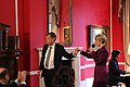 Ambassador Ammon with Adrienne Haan (35481432235).jpg