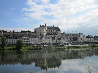 Château d'Amboise - Château d'Amboise on the river Loire