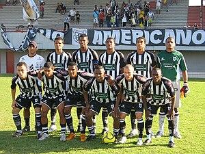 Americano Futebol Clube - Team photo from the 2008 season