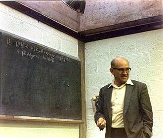 Shimshon Amitsur - Shimshon Amitsur, Leeds, 1972 (photo by George M. Bergman)
