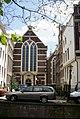 Amsterdam - Oudezijds Achterburgwal - View ESE on Waalse Kerk 1496.jpg