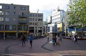 Amsterdam-Zuidoost - Amsterdamse Poort shopping centre, Bijlmermeer
