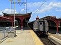 Amtrak train 195 at Wilmington, July 2014.JPG