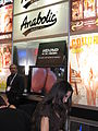 90px Anabolic booth at AVN Adult Entertainment Expo 2008 Young Ebony Teen Showing petite Booty
