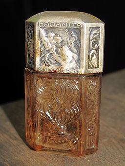 Ancien flacon de parfum Molinard