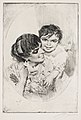 Anders Zorn - Motherly Happiness (etching) 1883.jpg
