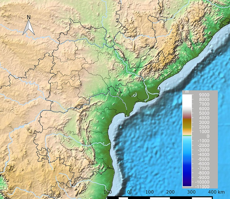File:Andhra Pradesh and Telangana Physical jpeg - Wikipedia