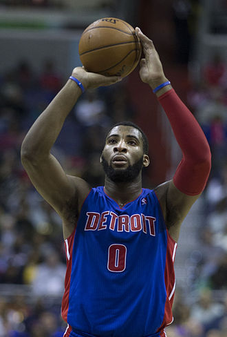 Andre Drummond - Drummond shooting a free throw in January 2014