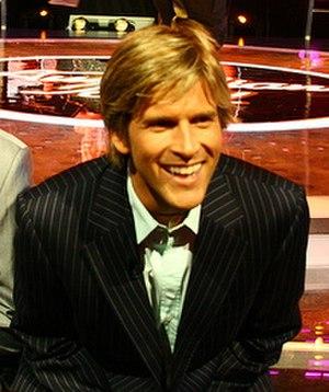 Osher Günsberg - Günsberg on the set of Australian Idol