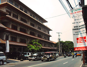 Diego Cera Avenue - The Las Piñas General Hospital on Diego Cera Avenue