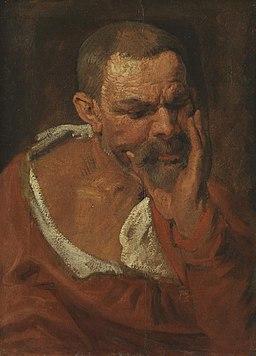 Anthonis van Dyck - Studienkopf - 1316 - Bavarian State Painting Collections