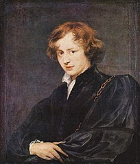 Self-portrait of Van Dyck