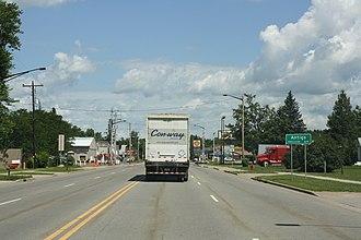 Antigo, Wisconsin - Image: Antigo Wisconsin Sign North July 2011 US 45