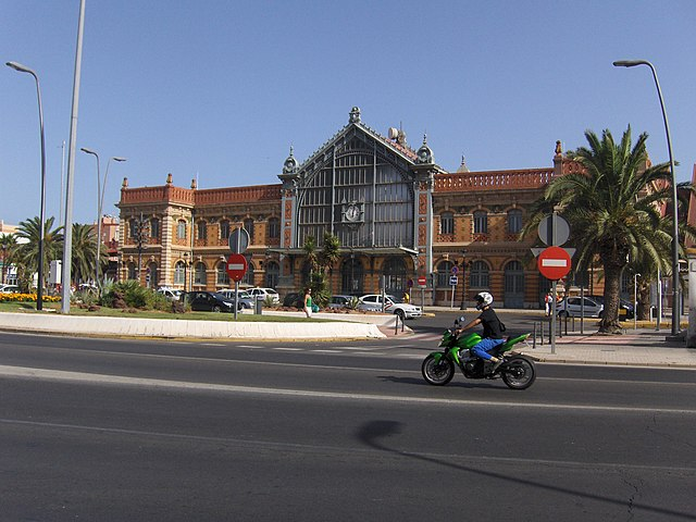 Almería Old Train Station