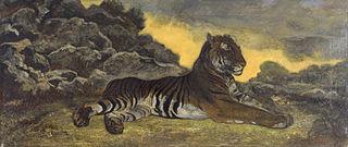 Tiger at Rest