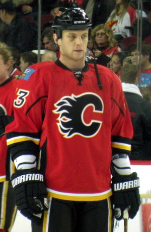 Anton Babchuk - Babchuk on the Calgary Flames.
