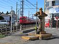 Anzen Jizō of Shinkawamachi No.7 Railroad crossing.jpg