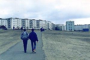 Nikel - Apartment buildings in Nikel