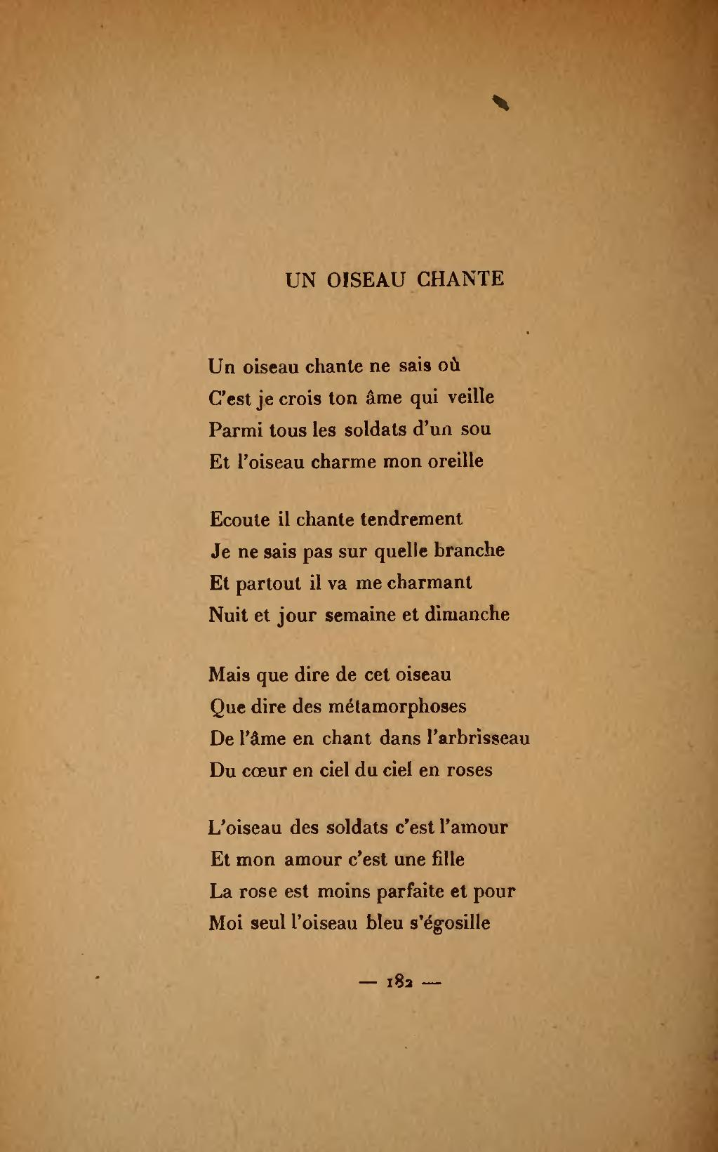 Page apollinaire wikisource for Coeur couronne et miroir apollinaire