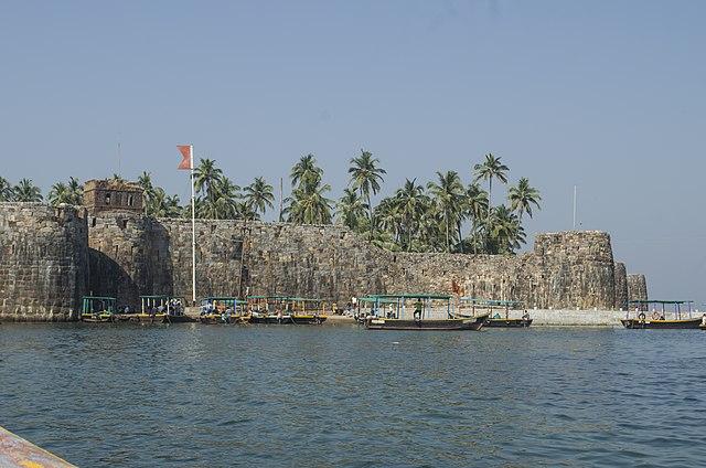 मराठा साम्राज्य का समुद्री किला सिंधुदुर्ग