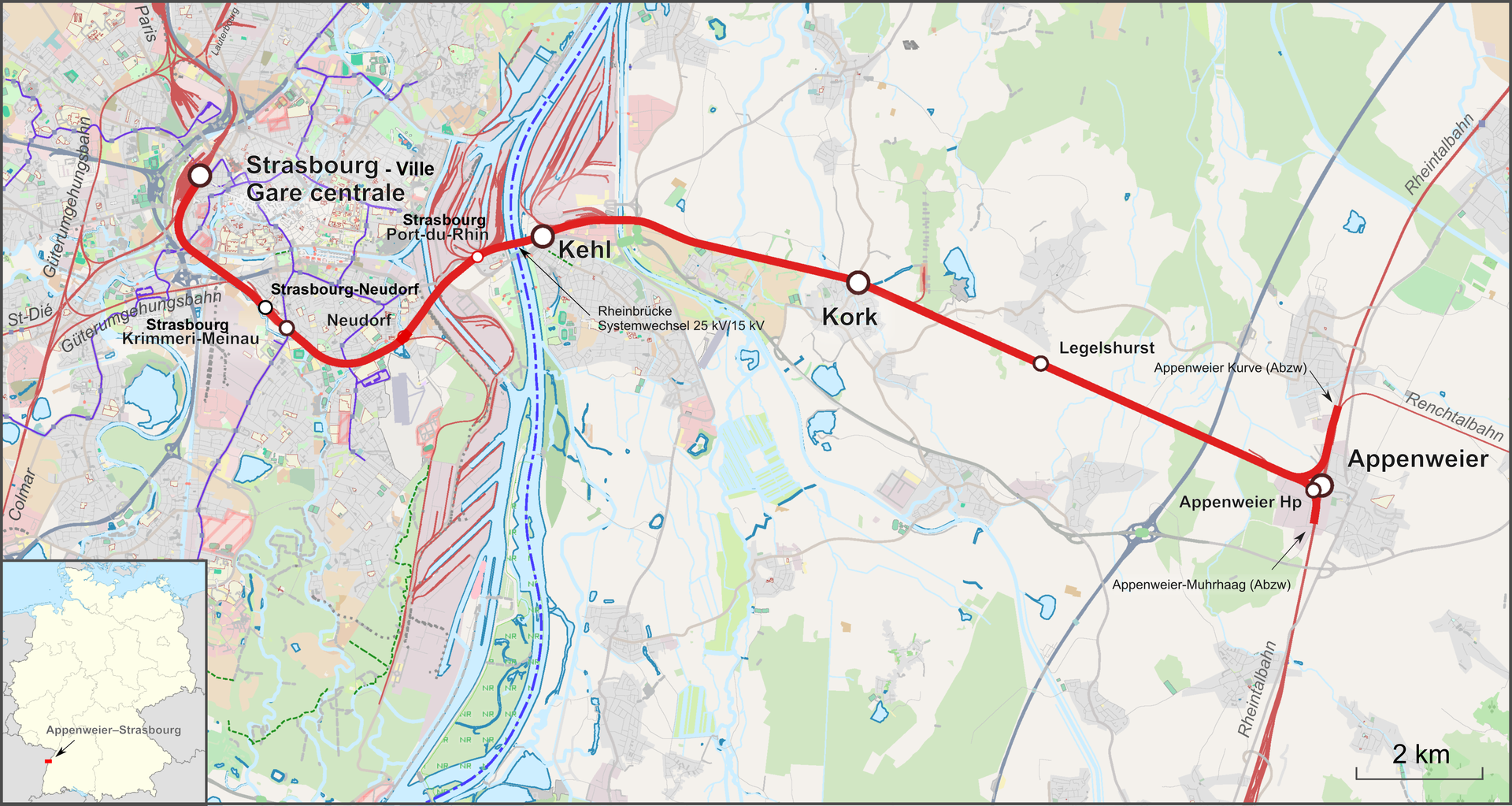 Ligne de strasbourg ville strasbourg port du rhin - Piscine a strasbourg ...