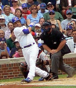 Aramis Ramírez - Ramírez takes a swing.