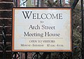 Arch Street Meeting House welcome sign.jpg