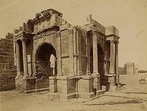 Theveste - Arch of Caracalla in Theveste