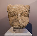 Archaic period head of lion archmus Heraklion.jpg