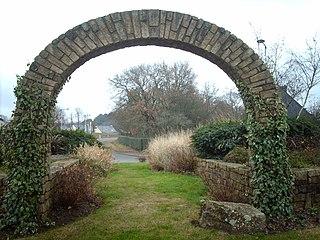 Ploeren Commune in Brittany, France