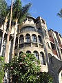 Architectural detail of East side of Mission Inn.JPG