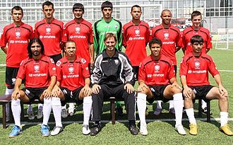 Gabala FK - Team photo for the 2010–2011 season.
