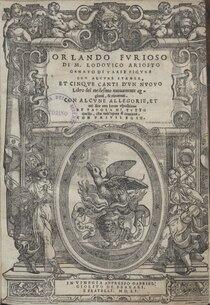 Ariosto - Orlando Furioso, 1551 - 5918999 FERE001606 00005.tif