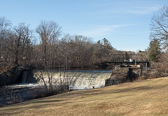 Arkwright Bridge - Arkwright Bridge over the Pawtuxet River in 2018