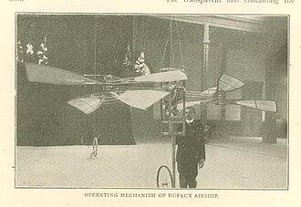 Armand Dufaux - Dufaux Airship 1906