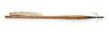 Armborstpil med styrfjädrar - Livrustkammaren - 100872.tif
