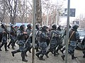 Armenian Presidential Elections 2008 Protest Day 11 - Opera Square riot police.jpg