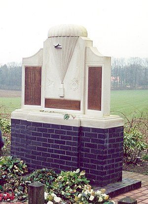 Royal Canadian Army Service Corps - Arnhem monument honours air despatchers of the Royal Canadian Army Service Corps who worked with aircrew of the Royal Air Force and the Royal Canadian Air Force