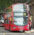 Arriva London South bus DW295 (LJ59 LWA) 2010 Wrightbus Gemini 2 DL, Southampton Row, route 59, 4 June 2011 (2).jpg