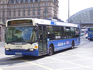 Scania OmniCity - Arriva North West and Wales 4-series OmniCity in Liverpool in 2007
