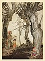 ArthurRackham, Aesop-11trees.jpg