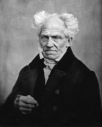 Scientific racism - Arthur Schopenhauer portrait