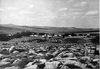 Artuf Village in Jerusalem, Mandatory Palestine