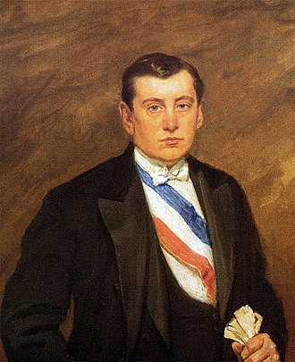 Arturo Alessandri - Official portrait of Arturo Alessandri.